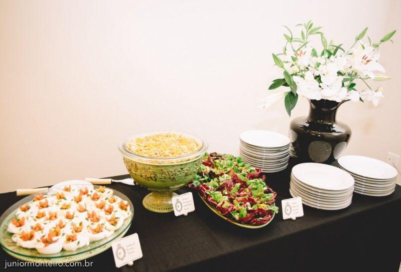 Buffet em Domicílio para Festa e Evento no Jardim Floresta - Buffets a Domicilio em SP