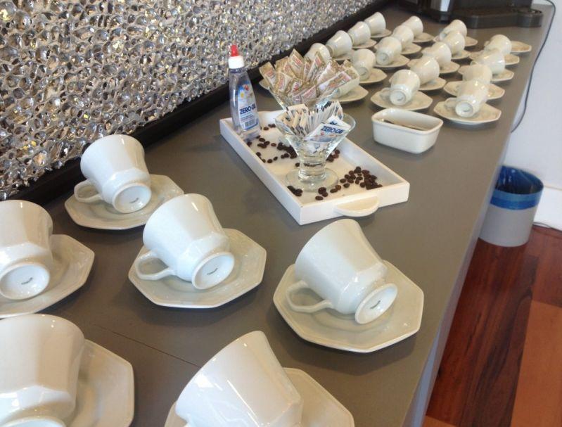 Coffee Break Completo para Empresas na Chácara do Encosto - Empresa de Coffee Break em Campinas