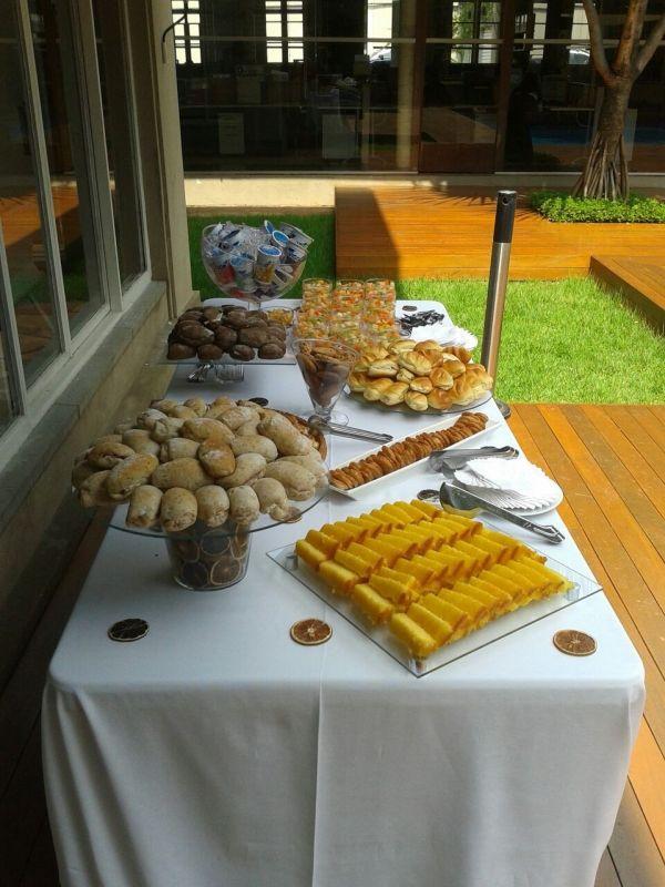 Coffee Break de Confraternização para Empresas no Jardim Niteroi - Empresa de Coffee Break em Campinas