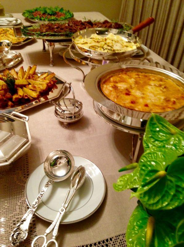 Onde Contratar Buffet em Domicílio para Festa e Evento no Jardim Ingá - Buffet a Domicílio no ABC