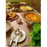 Onde contratar buffet em domicílio para festa e evento na Chácara Paraíso