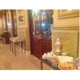Preço de buffet para festas de casamentos no Jardim Patente Novo