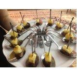 Valor de buffet para casamento no Jardim Itajai
