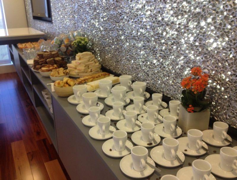 Valor de Coffee Break no Jardim Senice - Empresa de Coffee Break em Diadema
